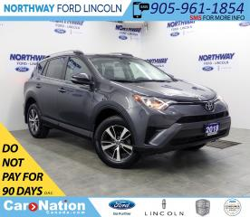Used 2018 Toyota RAV4 LE | AWD | HTD SEATS | BACKUP CAM | USB+AUX | for sale in Brantford, ON