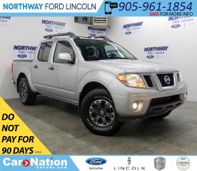 Used 2018 Nissan Frontier PRO-4X | 4x4 | NAV | LEATHER | BACKUP CAM | for sale in Brantford, ON