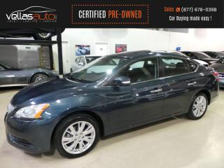 Used 2015 Nissan Sentra 1.8 SL SL| NAVIGATION| SUNROOF| LEATHER for sale in Vaughan, ON