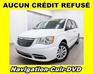 Used 2015 Chrysler Town & Country LIMITED STOW N GO DVD CUIR NAVIGATION *BAS KM* for sale in Mirabel, QC