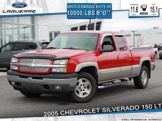 Used 2005 Chevrolet Silverado 1500 LT**4WD*6 PLACES*A/C*GROUPE ÉLECTRIQUE** for sale in Victoriaville, QC