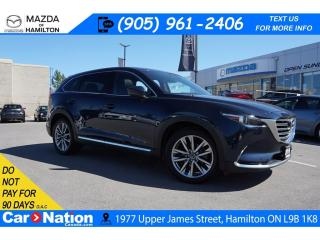 Used 2016 Mazda CX-9 SIGNATURE | NAV | LEATHER | SUNROOF | 7 PASSENGER for sale in Hamilton, ON