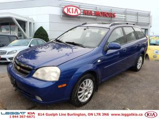 Used 2005 Chevrolet Optra LS for sale in Burlington, ON