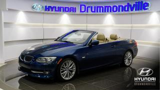 Used 2011 BMW 3 Series 335 + CUIR + NAVI + A/C + MAGS + WOW !! for sale in Drummondville, QC