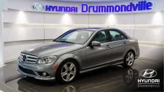 Used 2010 Mercedes-Benz C-Class 4MATIC + 79 541KM + CUIR + TOIT + BLUETO for sale in Drummondville, QC