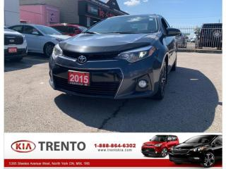 Used 2015 Toyota Corolla 2015 Toyota Corolla - 4dr Sdn Auto LE for sale in North York, ON