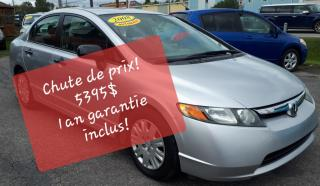 Used 2008 Honda Civic DX for sale in Mascouche, QC