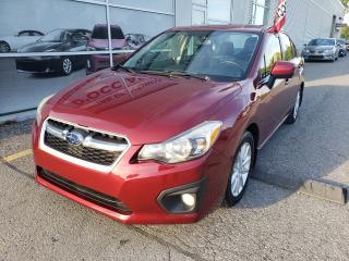 Used 2013 Subaru Impreza 2.0i w/Touring Pkg TRACTION INTEGRALE SIEGES CHAUFFANTS AUTOMATIQUE for sale in Montréal, QC