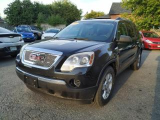 Used 2010 GMC Acadia AWD 4dr SLE1 for sale in Oshawa, ON