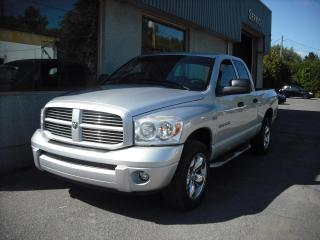 Used 2007 Dodge Ram 1500 Cabine quad 4RM, 140,5 po SLT for sale in Repentigny, QC
