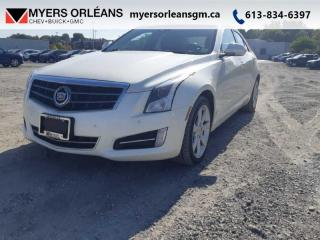 Used 2013 Cadillac ATS PERFORMANCE  AWD for sale in Orleans, ON
