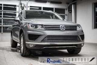 Used 2016 Volkswagen Touareg V6 3.6L chez Rimouski Hyundai for sale in Rimouski, QC