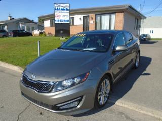 Used 2013 Kia Optima SX for sale in Ancienne Lorette, QC
