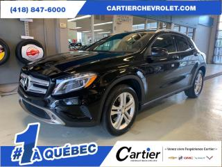 Used 2017 Mercedes-Benz GLA 250 4Matic * CUIR * NAV * 4 roues motrices for sale in Québec, QC