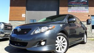 Used 2010 Toyota Corolla S automatique+cuir+toit ouvrant+impeccab for sale in St-Henri-de-Levis, QC