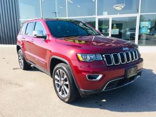 Used 2018 Jeep Grand Cherokee Limited, Sunroof, Adaptive Cruise Control for sale in Ingersoll, ON