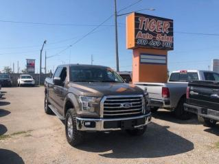 Used 2016 Ford F-150 XLT**ONLY 128KMS**NAV**CREW CAB**BIG TIRES**CERT for sale in London, ON