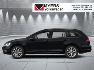 New 2019 Volkswagen Golf Sportwagen Comfortline Manual for sale in Kanata, ON