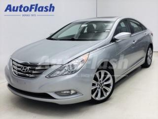 Used 2013 Hyundai Sonata SE 2.4L *Cuir *Toit/Sunroof* Bluetooth * Clean !* for sale in St-Hubert, QC