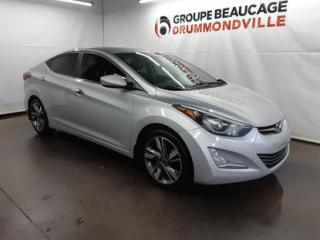 Used 2015 Hyundai Elantra Limited for sale in Drummondville, QC