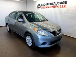 Used 2012 Nissan Versa SV for sale in Drummondville, QC