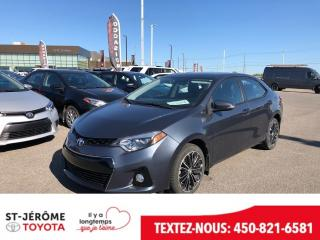 Used 2015 Toyota Corolla * TOIT * MAGS * AUTO * CAMÉRA * for sale in Mirabel, QC