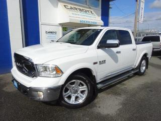 Used 2016 RAM 1500 Limited  4x4, Nav, Leather, Sunroof, Extra Clean!! for sale in Langley, BC