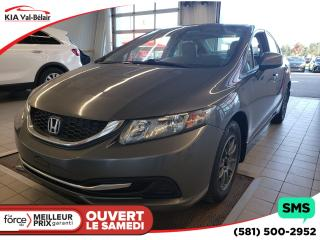 Used 2013 Honda Civic *LX*AIR*BLUETOOTH*CRUISE*LECTEUR CD* for sale in Québec, QC
