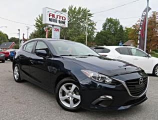 Used 2015 Mazda MAZDA3 GX HATCHBACK AUTOMATIQUE A/C BLUETHOOT for sale in Repentigny, QC