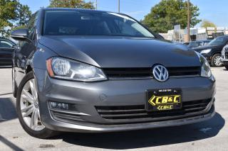Used 2015 Volkswagen Golf HIGHLINE - RARE 6 SPEED - ONE OWNER - NO ACCIDENTS for sale in Oakville, ON