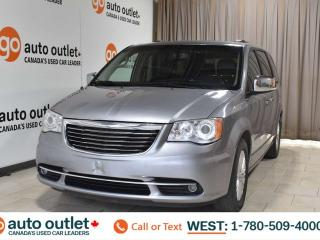 Used 2014 Chrysler Town & Country Limited, 3.6L V6, Fwd, Third row 7 passenger seating, Navigation, Heated leather seats, Heated steering wheel, Backup camera, Sunroof, Bluetooth for sale in Edmonton, AB