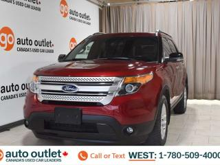 Used 2013 Ford Explorer Xlt, 3.5L V6, 4wd, Third row 7 passenger seating, Navigation, Heated leather seats, Backup camera, Bluetooth for sale in Edmonton, AB