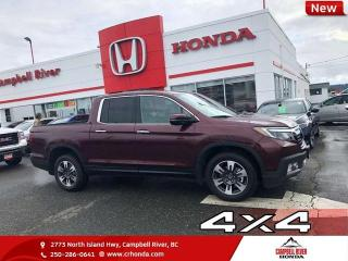 Used 2019 Honda Ridgeline Touring - Navigation - Cooled Seats - $383 B/W for sale in Campbell River, BC