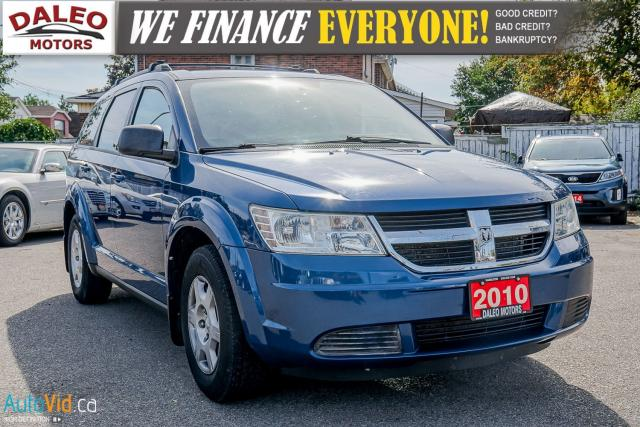 2010 Dodge Journey SE | LOW KMS | ROOF RACK | CARGO COVER |