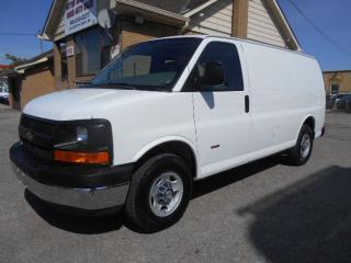 Used 2009 Chevrolet Express 3500 CARGO 6.6L Duramax Diesel Certified ONLY 138,000Km for sale in Rexdale, ON
