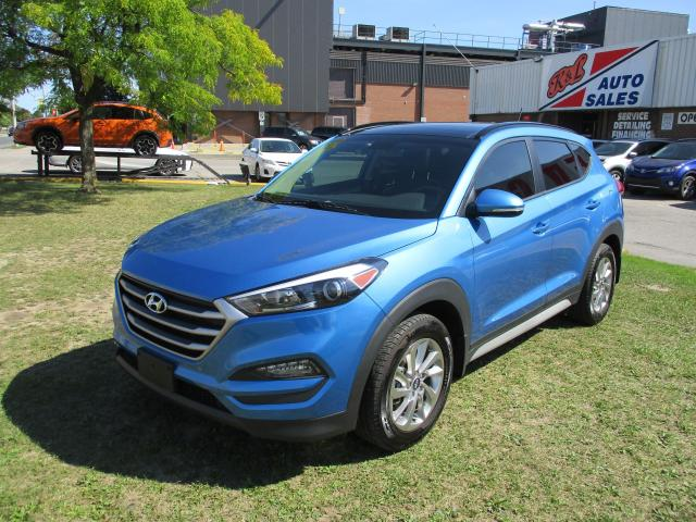 2017 Hyundai Tucson SE ~ LEATHER ~ PANO ROOF ~ REAR CAM ~ LOW KM