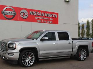 Used 2017 GMC Sierra 1500 Denali/4X4/ONE OWNER/COOLED LEATHER/SUNROOF for sale in Edmonton, AB