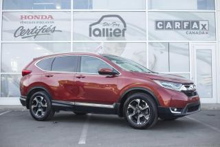 Used 2017 Honda CR-V TOURING AWD ***GARANTIE GLOBALE AOUT JUS for sale in Québec, QC