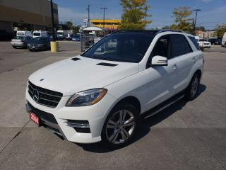Used 2014 Mercedes-Benz M-Class ML350, Navi, Camera, 3/Y warranty available for sale in Toronto, ON