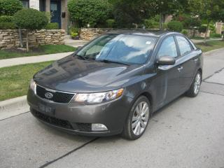 Used 2011 Kia Forte SX, LEATHER, ROOF, BLUETOOTH, NO ACCIDENTS for sale in Toronto, ON