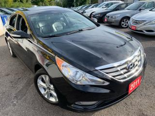 Used 2011 Hyundai Sonata LIMITED/ AUTO/ LEATHER/ SUNROOF/ BLUETOOTH/ ALLOYS for sale in Scarborough, ON