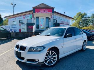 Used 2011 BMW 3 Series V6|LIMITED|SUNROOF|LEATHER|BLUETOOTH|ALLOYS & MORE for sale in Guelph, ON