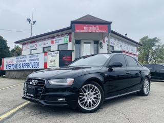 Used 2016 Audi A4 2.0T Premium quattro Sedan AWD 6M| CERTIFIED BLUETOOTH|SUNROOF|HEATED MIRRORS|HEATED LEATHER SEATS|POWER SEATS. for sale in Guelph, ON