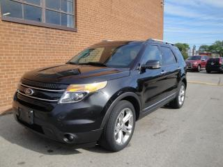Used 2013 Ford Explorer LIMITED/7 PASSENGERS /LEATHER /SUNROOF/NAV/CAM for sale in Oakville, ON