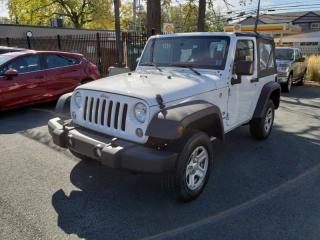 Used 2017 Jeep Wrangler SPORT for sale in Halifax, NS