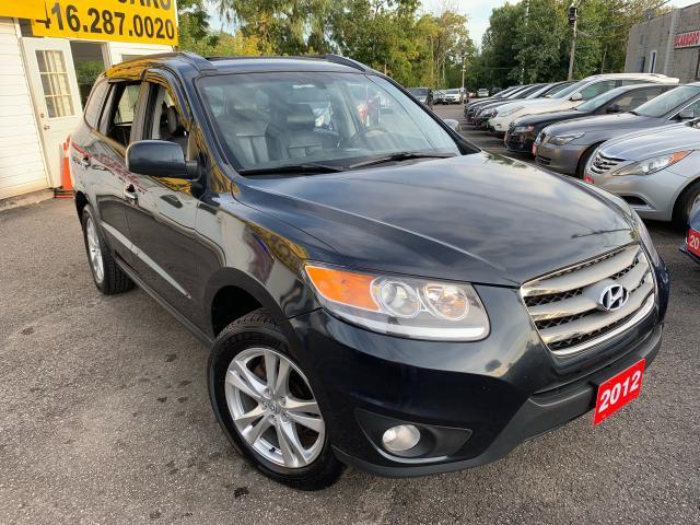 2012 Hyundai Santa Fe AWD /DVD/ LEATHER/ SUNROOF/ NAVI/ BACK UP CAM!
