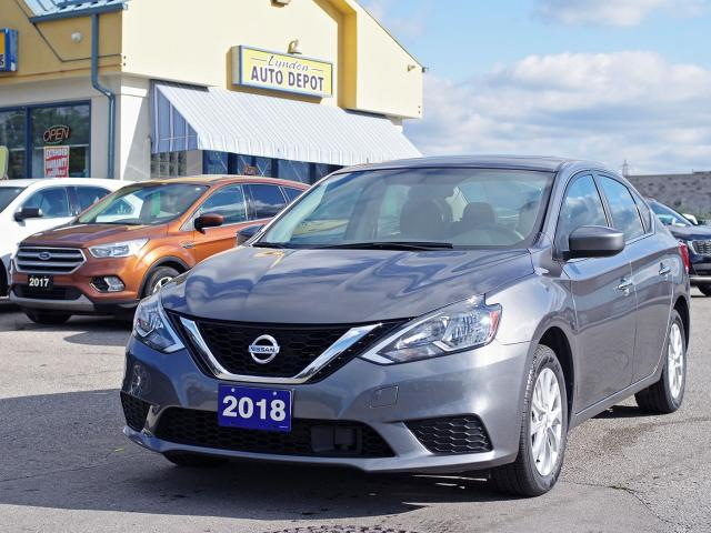 2018 Nissan Sentra SV MIDNIGHT EDITION 1.8lL MoonRoof HeatedSeats