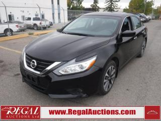 Used 2017 Nissan Altima SV 4D Sedan AT 2.5L for sale in Calgary, AB