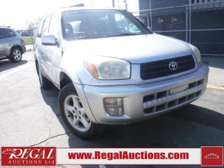 Used 2003 Toyota RAV4 4D Utility 4WD for sale in Calgary, AB