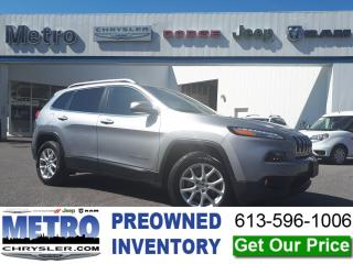 Used 2016 Jeep Cherokee North 4X4 Mint for sale in Ottawa, ON